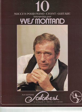 YVES MONTAND - 10 SUCCES
