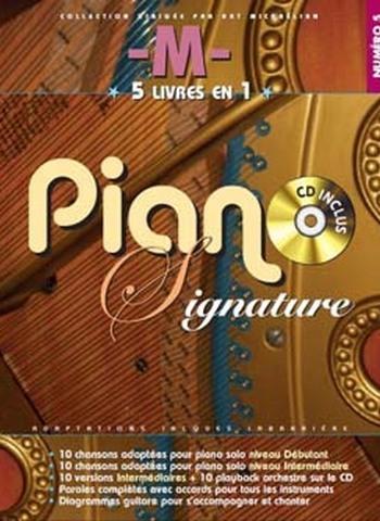 -M- PIANO SIGNATURE